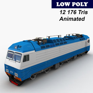 ep10 locomotive 3ds