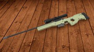 sniper rifle obj free