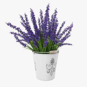 bouquet purple lavender max