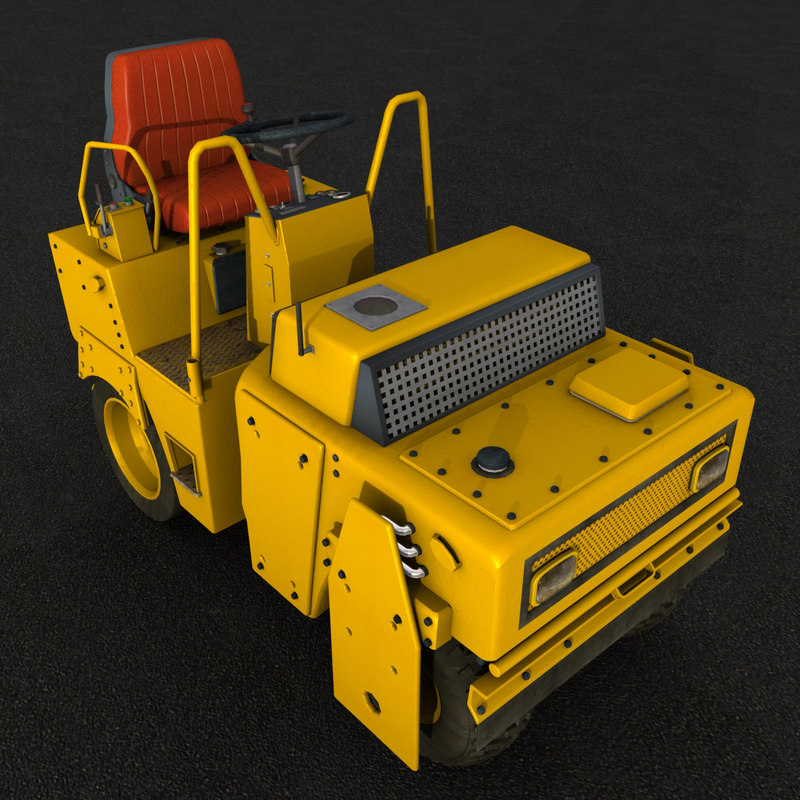 3d model industrial vehicle
