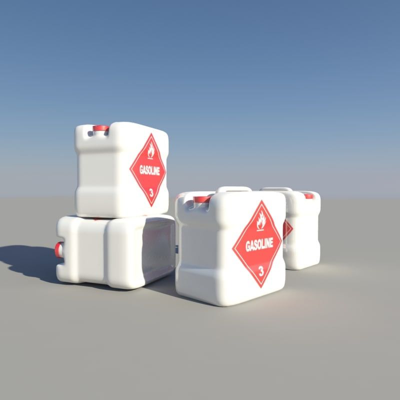 oil drum obj