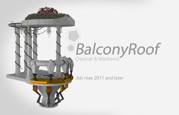 3d balcony 1