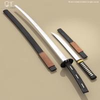 katana wakizashi 3ds