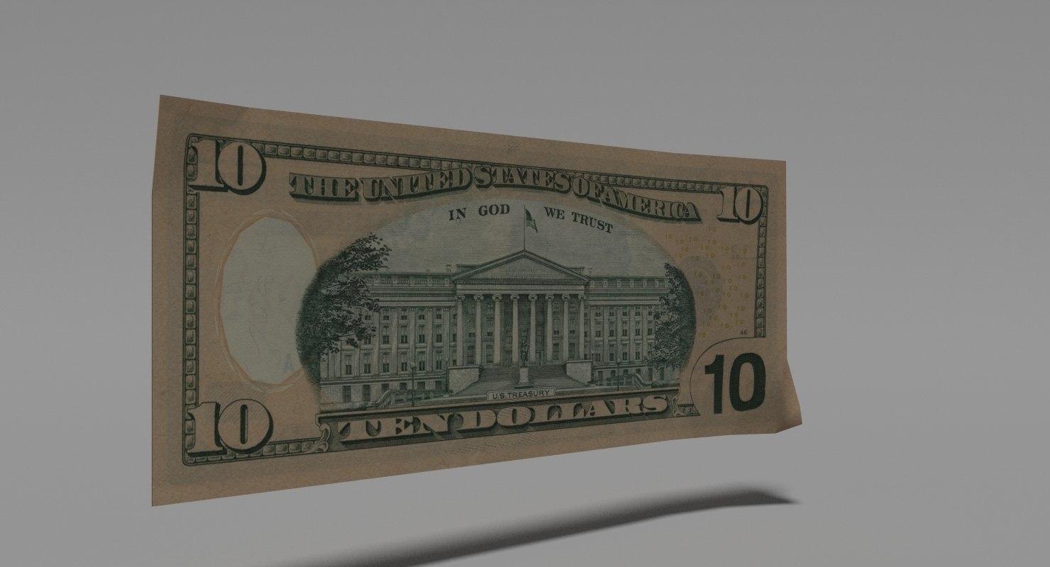 dollar bill games 3d blend