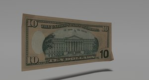 dollar bill games 3d blend