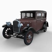 3d hillman car