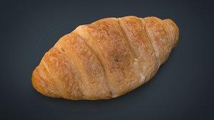 croissant 3d 3ds