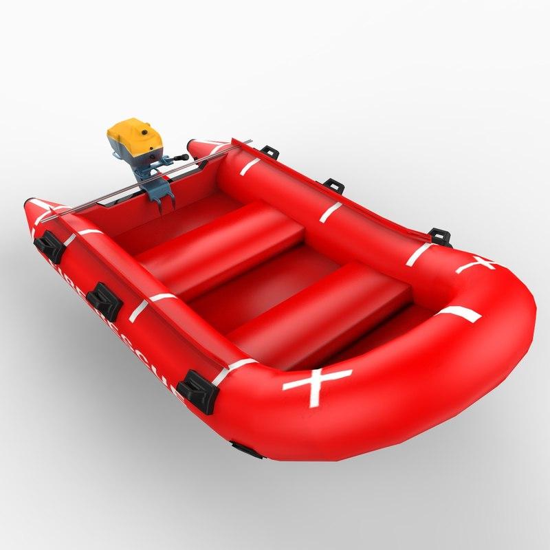 maya rescue raft