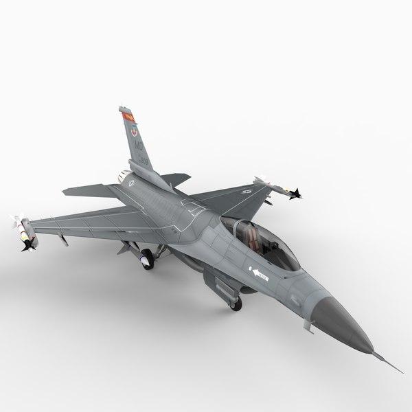 f16 52c 3d model