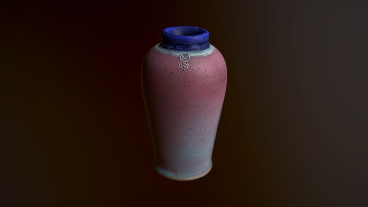 obj vase scanned