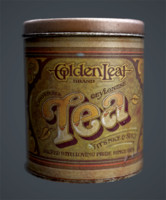 Tea Can 3D Scan
