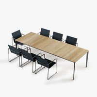 max set carver table asta