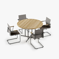 Whirl Table Sway Chair Set
