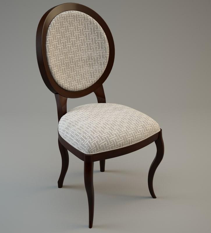 chair 3d fbx