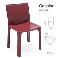 Cassina 412 CAB