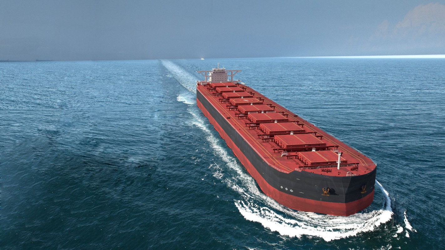 ultra large cargo ship obj