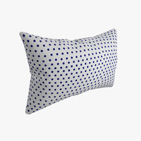 pillow photorealistic 3d model