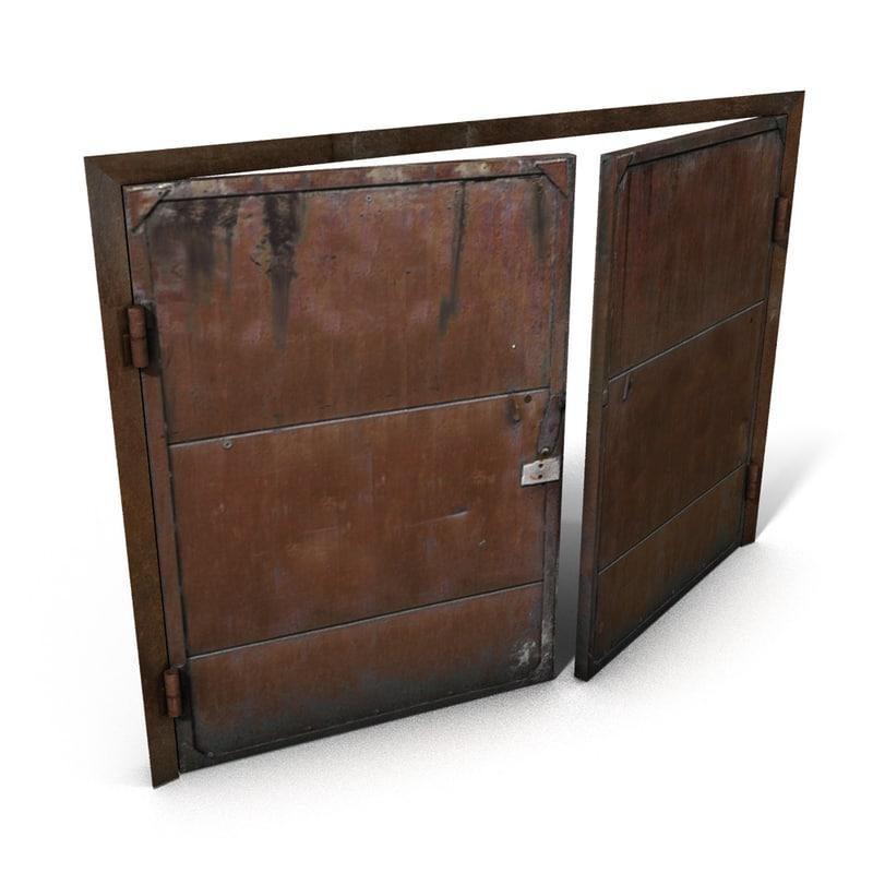c4d metal gate