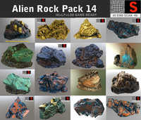 Alien Rock Pack 14