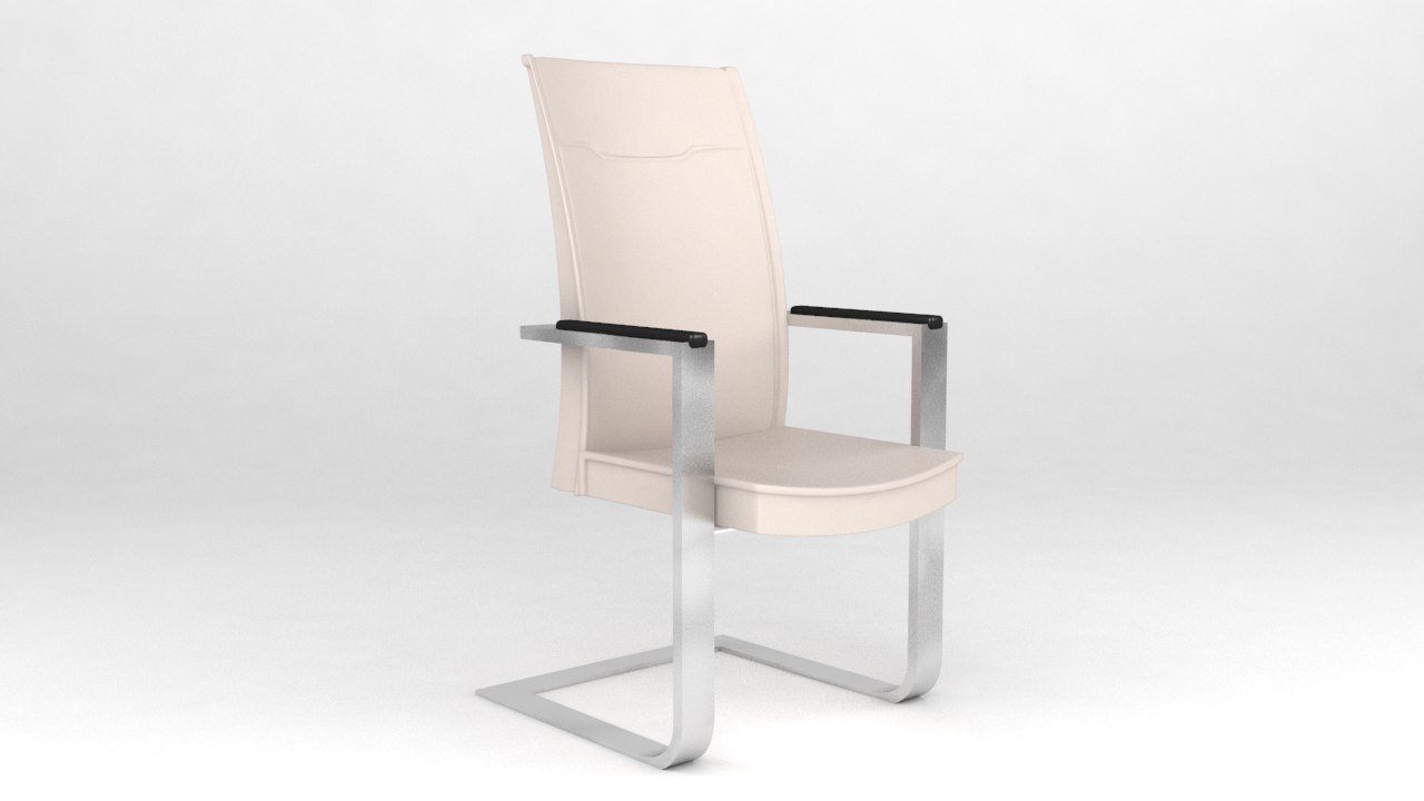 3d meeting room chair v1