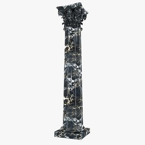 corinth column 3d 3ds