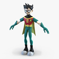 Robin Cartoon Character