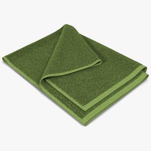 towel 4 green fur max