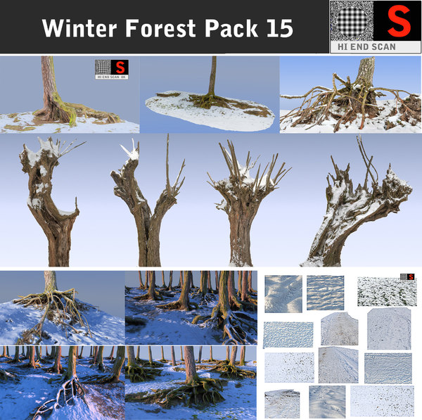 max winter forest pack 15