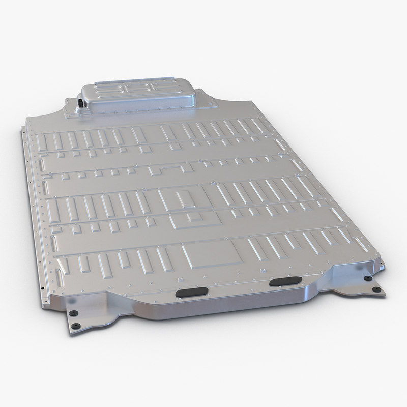 3d model tesla s battery pack