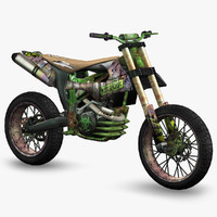 3ds ready apocalyptic dirt bike