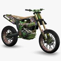Apocalyptic Dirt Bike