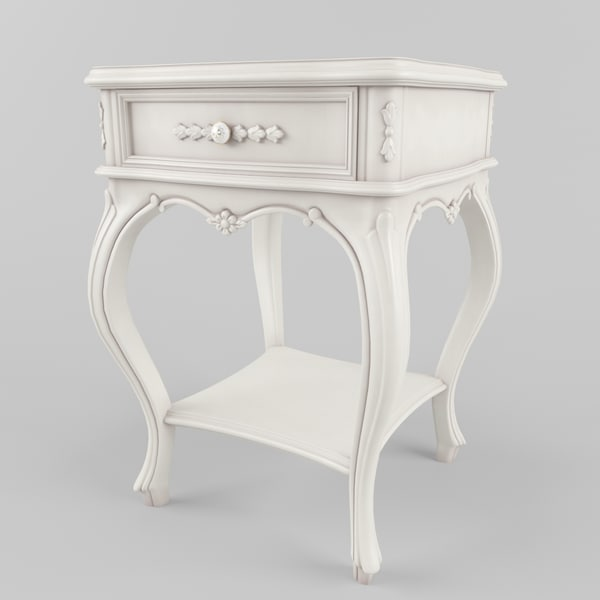 classical tables style provence 3d model