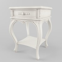 side table in the style of Provence
