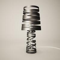 lights curl 3d max