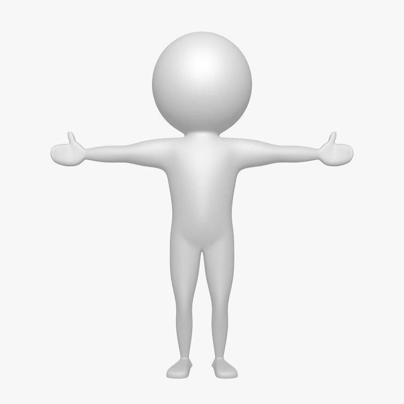 virtual man 3d model