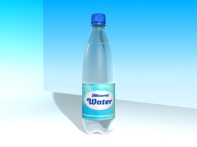 bottle water 3ds