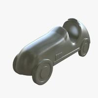 3d model monopoly car