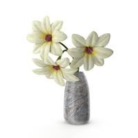 3d model flowers vase