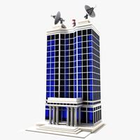 building toon 3d max