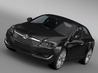 3d model vauxhall insignia turbo 2015