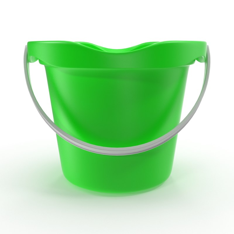toy bucket 3d 3ds