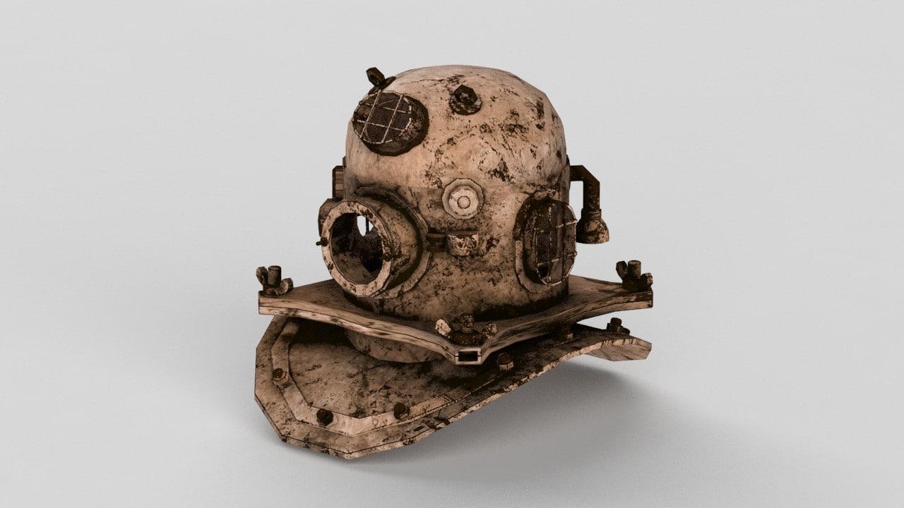 3d deep sea helmet
