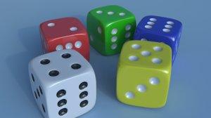 3dsmax gambling dices