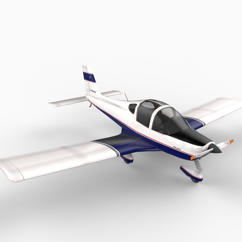 wing structure features 3d model