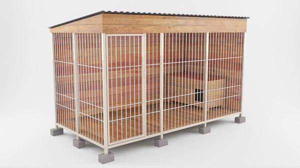3d enclosures animals