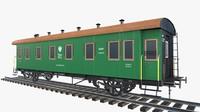 2-axle passenger wagon PBR