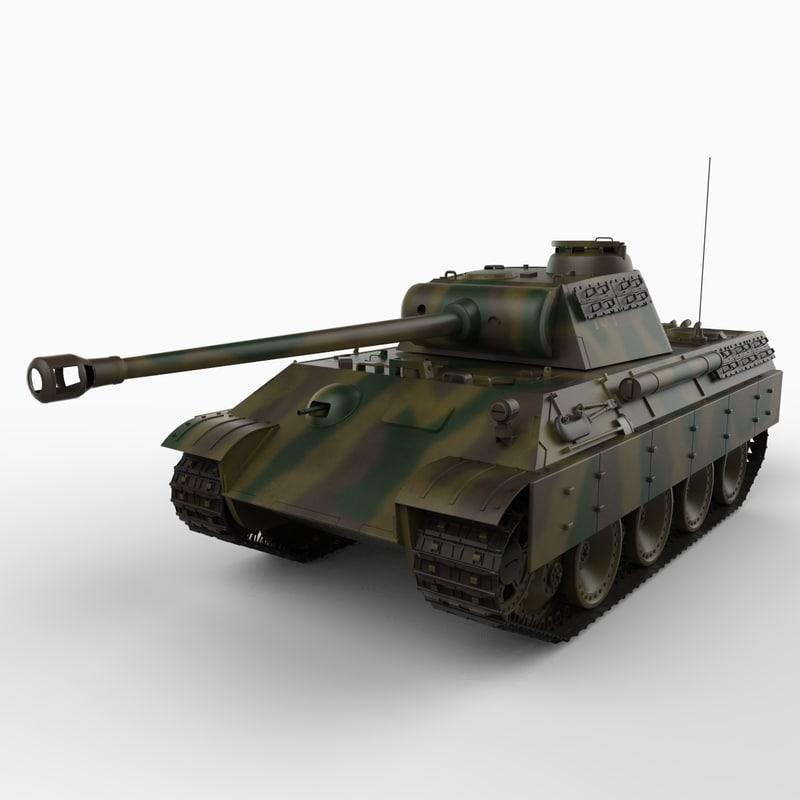 max panther tank