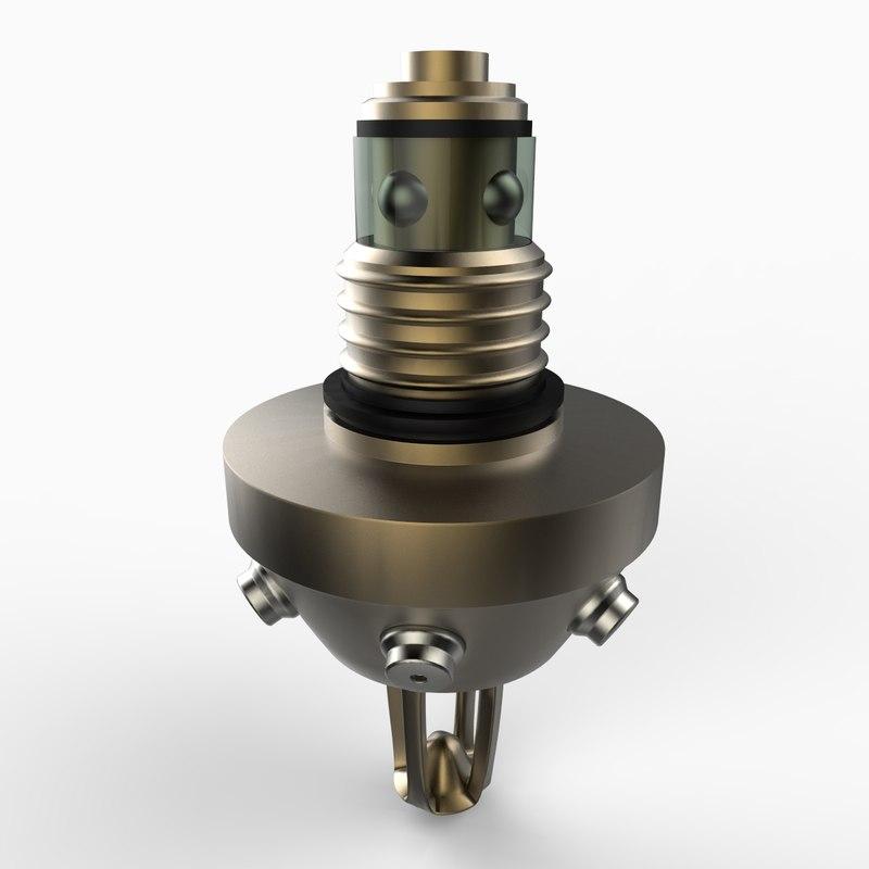 3d nozzle model
