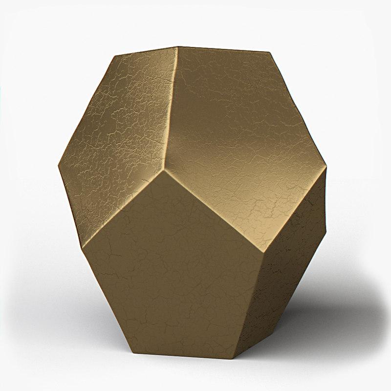 maya gold hexagonal ceramic