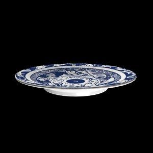 3ds max porcelain plate